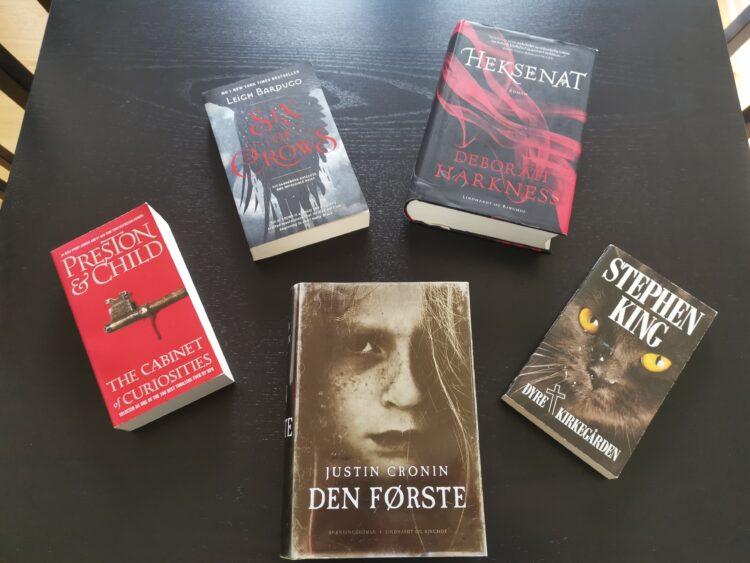 Top 5 bøger
