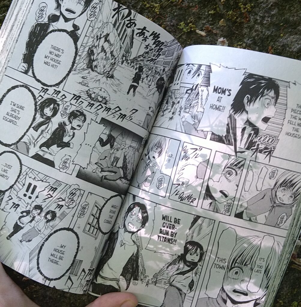 opslået manga attack on titan
